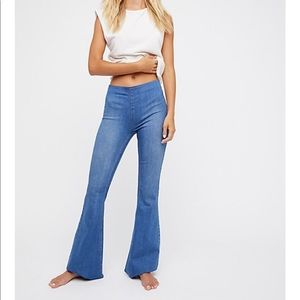 free people flare jeans!
